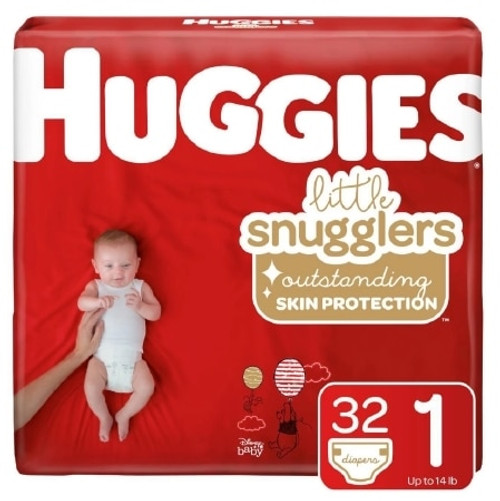 Huggies Little Snugglers Baby Diapers with Tabs