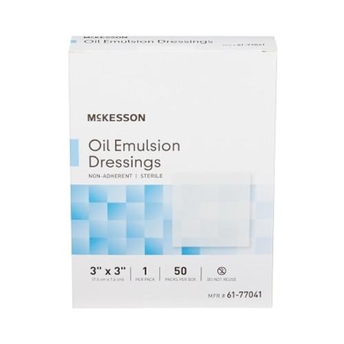 McKesson Oil Emulsion Non-Adhering Dressing