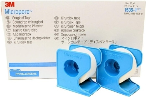 3M Micropore Medical Tape with Dispenser