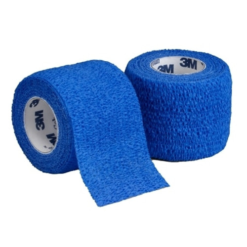 3M Coban Cohesive Bandage, Blue
