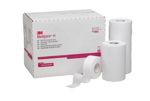 3M Medipore H Soft Cloth Surgical Tape