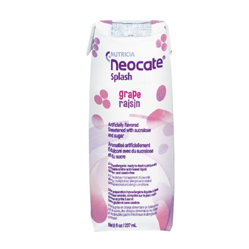 Neocate Splash Pediatric Oral Supplement / Tube Feeding Formula