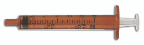 Becton Dickinson Oral Medication Syringe, Clear Barrel