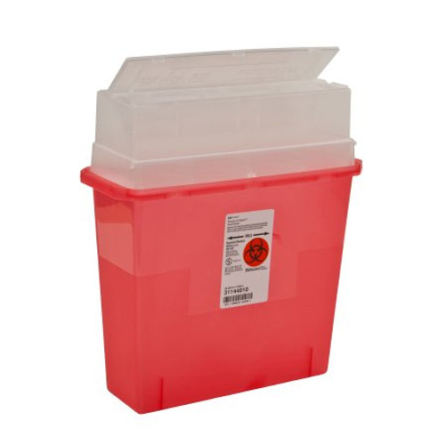 Sharps-A-Gator Sharps Container, 5 Quart