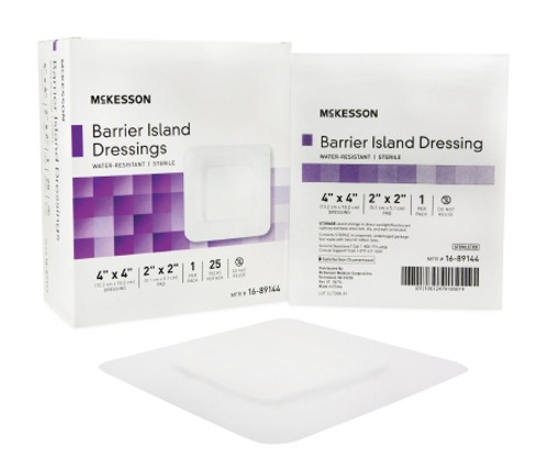 McKesson Barrier Island Dressing, Sterile