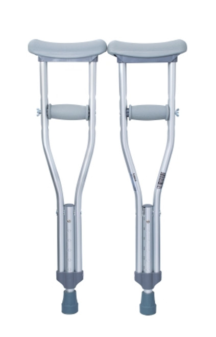 McKesson Underarm Crutches, Child up to 150 lbs