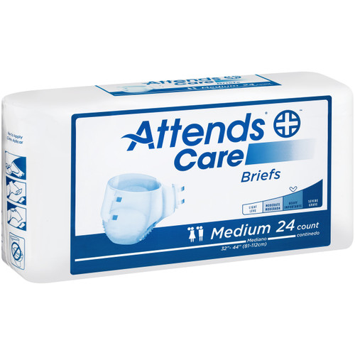 Attends Adult Diapers with Tabs, Moderate
