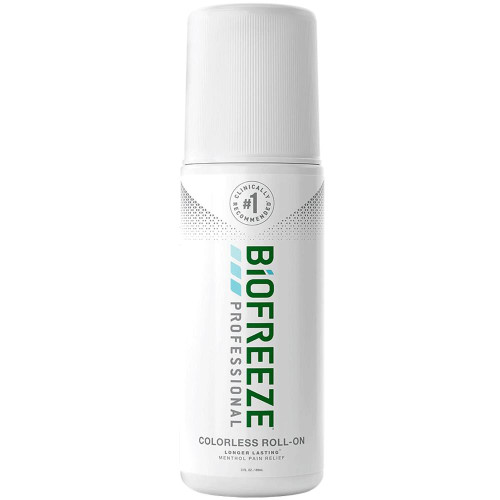 Biofreeze Professional Topical Pain Relief 5% Strength Menthol Topical Gel
