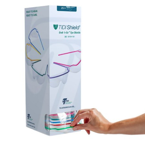 TIDIShield Grab 'n Go Eyewear Tower Dispenser