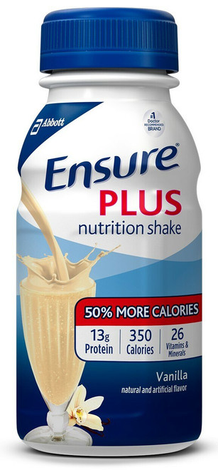 Ensure Plus Oral Supplement, Bottle
