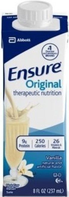 Ensure Original Therapeutic Nutrition Shake, Carton