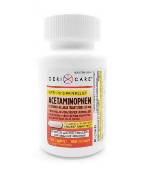 Acetaminophen Arthritis Pain Relief