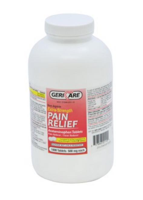 Acetaminophen 1,000 Tablet Pain Relief