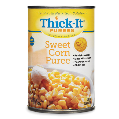 Thick-it Puree Sweet Corn Flavor, H304-F8800-CS12, 12 Count