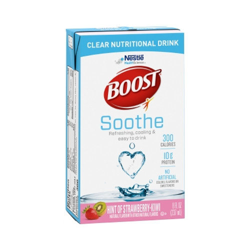 Carton of Kiwi StrawberryBoost Soothe Ready to Use Oral Supplement