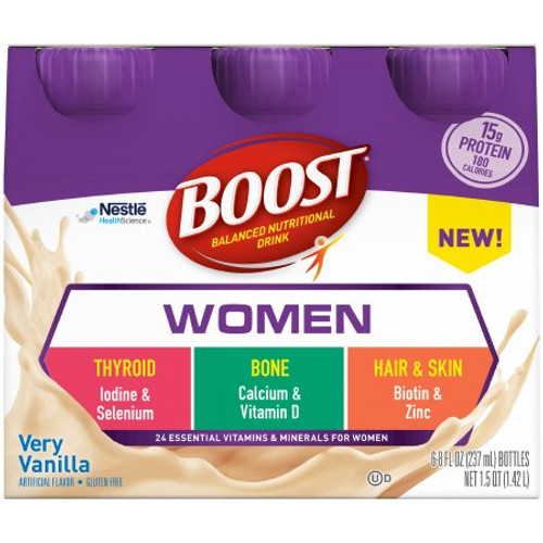 Package of Very Vanilla Boost Women Ready to Use Oral Supplement