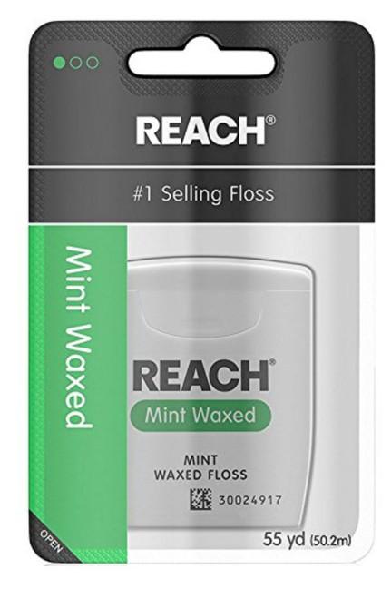 Reach Waxed Dental Floss, Mint Flavor
