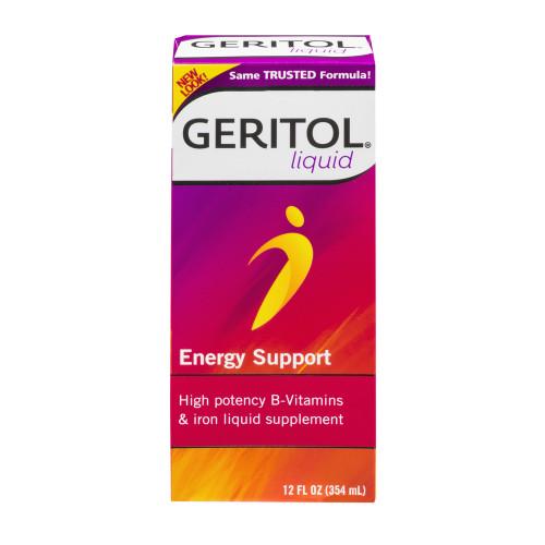 Geritol Multivitamin Supplement 12 oz. Bottle, Unflavored, 46017001112, 1 Bottle