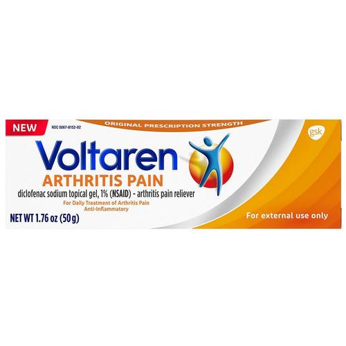 Voltaren Topical Arthritis Pain Relief Gel, 0067815202, 50 Gram - 1 Each
