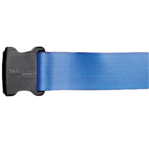 SkiL-Care Vinyl Gait Belt, Multiple Colors, 914380, 60 Inch - Blue
