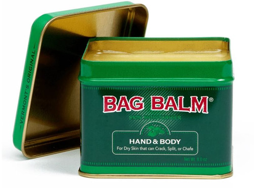 Bag Balm Hand and Body Moisturizer, Canister, Scented, 8 oz.