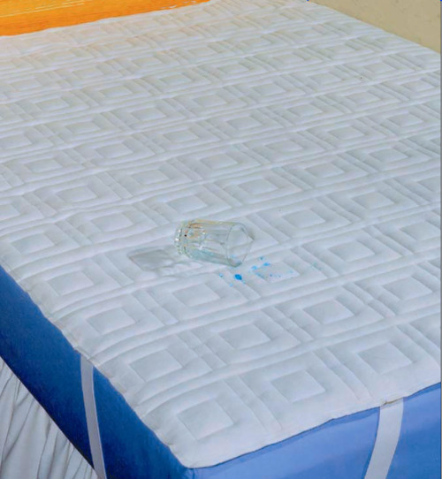 Dignity Polyester/Vinyl Mattress Cover For Twin Size Mattresses, 36080, 1 Cover