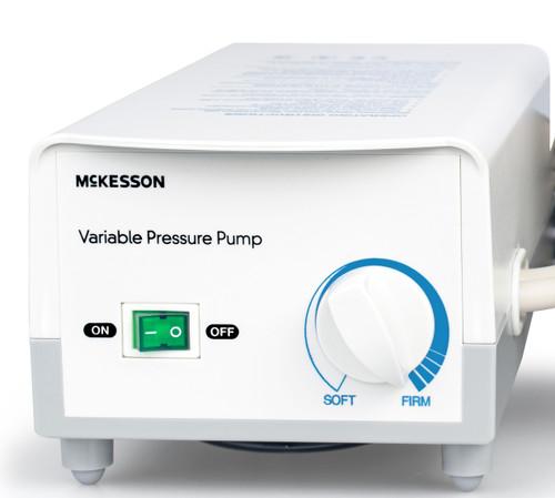 McKesson Variable Pressure Pump and Mattress Pad System, Pressure Redistribution For Mattresses, 146-14001E, 1 Pump