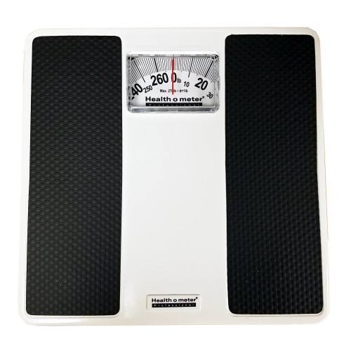 Health O Meter Dial Analog Display Floor Scale, 100LB, 1 Scale