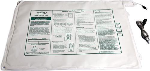 "Smart Caregiver Bed Alert Sensor Pressure Pad, PPB-WI, 20 X 30"" - 1 Pad"