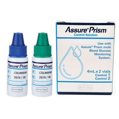 Assure Prism Control Solution, 4 mL, 2 Levels, 530006, 1 Box