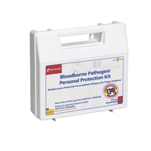 Acme United Bloodborne Pathogen Personal Protection Kit, 217-O, 1 Kit