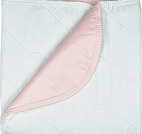 """Beck's Classic Twill Reusable Underpad, Pink, Heavy Absorbency, TL7136, 34 X 36"""" - 1 Each"""