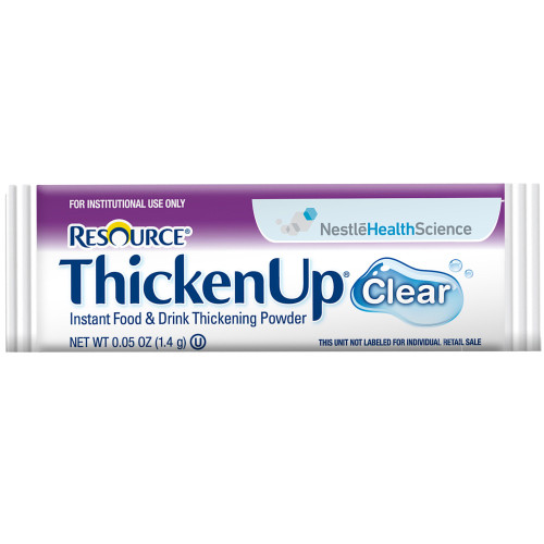 Resource Thickenup Clear Instant Food & Drink Thickening Powder, Packet, 4390015193, Case of 288