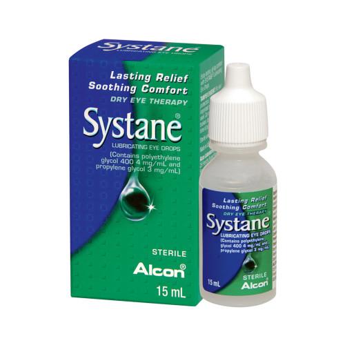 Systane Lubricating Eye Drops, 0.5 oz., 00065042915, 1 Bottle