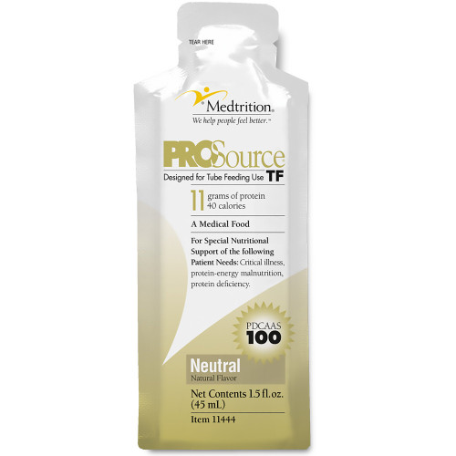 ProSource TF Designed for Tube Feeding Use Formula, Natural, 1.5 oz., 11444, Case of 100