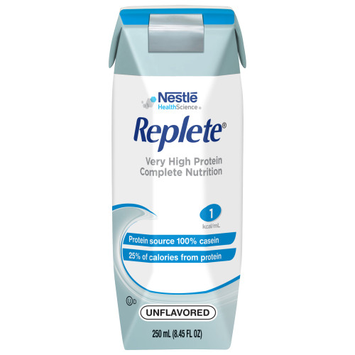 Nestle HealthScience Replete Very High Protein Complete Nutrition Tube Feeding Formula, 8.45 oz. , 00798716162494, Case of 24