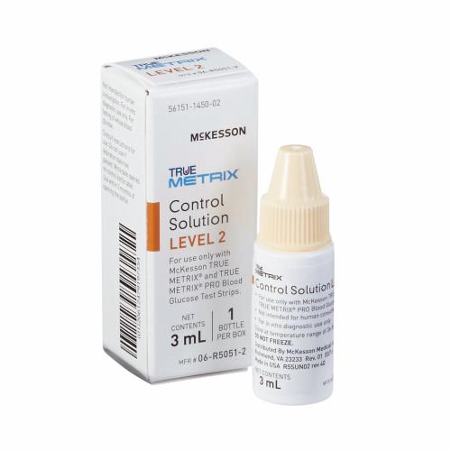 McKesson TRUE METRIX Control Solution, 3 mL Level 2, 06-R5051-2, 1 Box