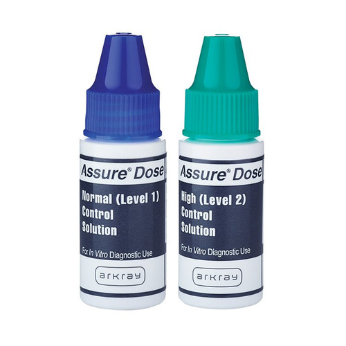 Assure Dose Level 1 & Level 2 Control Solution, 2 X 2.5 mL, 500006, 1 Box