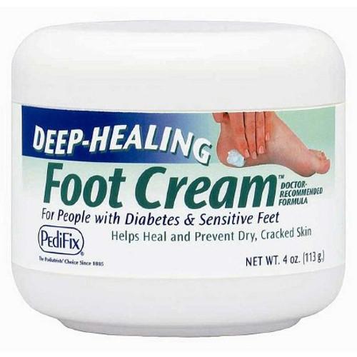 Pedifix Deep-Healing Foot Cream, 4 oz. Jar, Scented , P3069, 1 Each
