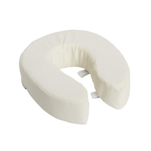 """DMI Toilet Seat Cushion 4"""" Height ,White, 520-1247-1900, 1 Each"""