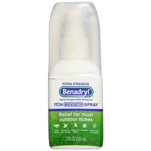 Benadryl Extra Strength Itch Cooling Spray, 2 oz., 00501320302, 1 Each