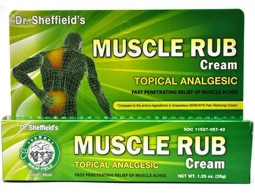 Dr. Sheffield's Muscle Rub Cream, 73295320012, 1 Each