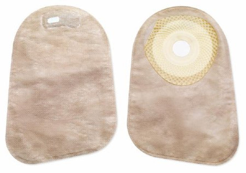 """Premier Colostomy Pouch, 9"""" Length, 1-3/16"""" Stoma, Pre-Cut, Beige, 82330, Box of 30"""
