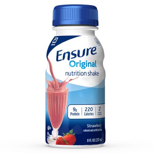 Ensure Original Nutritional Shake, 8 oz., Strawberry