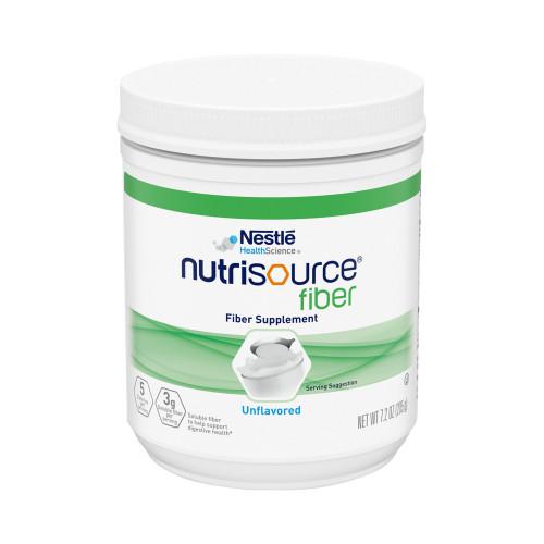 Nestle HealthScience Nutrisource fiber Fiber Supplement Powder, Unflavored, 7.2 oz., 10043900975518, 1 Each