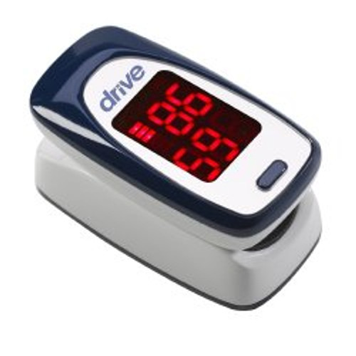 drive Battery Operated Fingertip Pulse Oximeter, MQ3000, 1 Each