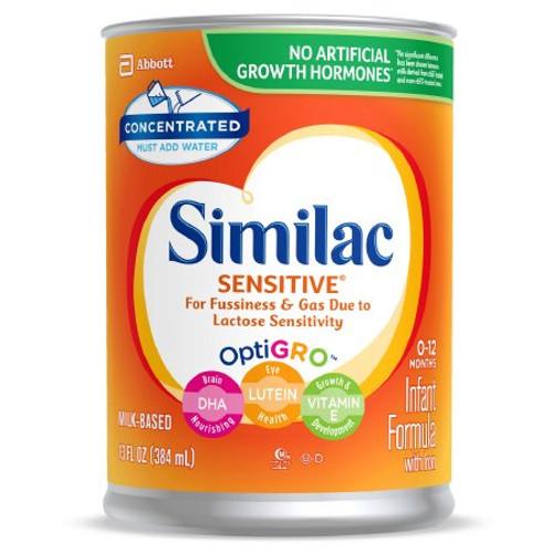 Similac Sensitive OptiGRO Infant Formula, 13 oz., 57535, Case of 12