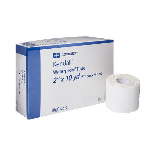 Kendall Medical Tape, 2 Inch x 10 Yard, 3267C, Box of 6