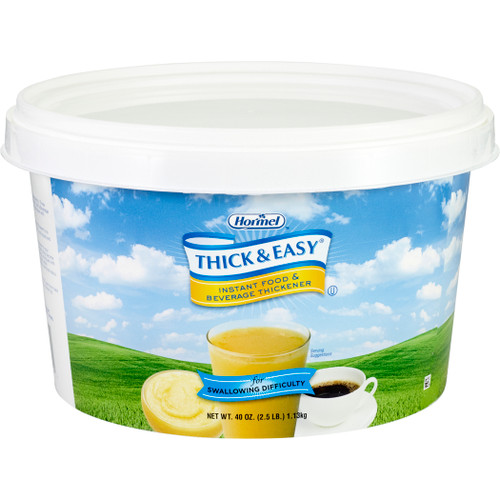 Thick & Easy Food and Beverage Thickener, 40 oz. Canister, 07941, Case of 4