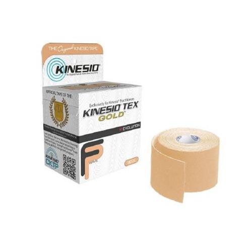 Kinesio Tex Gold Kinesiology Tape, 2 Inch x 5½ Yard, Beige, GKT-15024, Box of 6